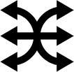 其它箭头0027,其它箭头,标识符号,