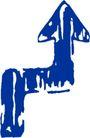 其它箭头0124,其它箭头,标识符号,