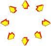 其它箭头0157,其它箭头,标识符号,