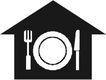 常用标识0051,常用标识,标识符号,刀具 餐具