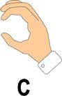 文字记号与手势0195,文字记号与手势,标识符号,