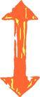 直线箭头0381,直线箭头,标识符号,
