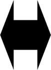 直线箭头0402,直线箭头,标识符号,