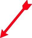 直线箭头0419,直线箭头,标识符号,