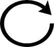 转弯箭头0075,转弯箭头,标识符号,