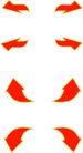 转弯箭头0101,转弯箭头,标识符号,