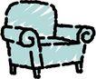 沙发与灯0110,沙发与灯,用品,