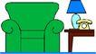 沙发与灯0120,沙发与灯,用品,