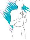 身体语言0058,身体语言,身体器官,