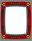 形色边框0473,形色边框,边框背景,