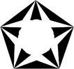 星状0534,星状,边框背景,