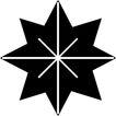 星状0544,星状,边框背景,