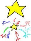 星状0567,星状,边框背景,
