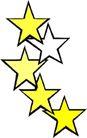 星状0575,星状,边框背景,