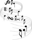 音符0115,音符,音乐舞蹈,
