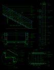 现代式楼梯0001,现代式楼梯,栏杆楼梯,