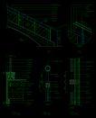 现代式楼梯0003,现代式楼梯,栏杆楼梯,