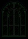西式窗0008,西式窗,窗,