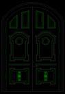 双扇门0062,双扇门,门,