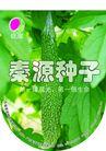 农业0010,农业,行业PSD平面模板,种子 生命 蔬菜 绿色食品 苦瓜 泰源种子