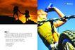 文体娱乐健身0024,文体娱乐健身,行业PSD平面模板,户外运动 自行车运动 登山 山顶的人 日出的山顶 越野 轮胎