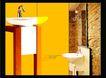 文体娱乐健身0032,文体娱乐健身,行业PSD平面模板,浴室 洗手盆 装饰