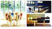 木材家具0014,木材家具,行业PSD平面模板,个性 概念 搭配 桌椅 灯饰