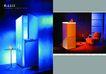 电子电工0020,电子电工,行业PSD平面模板,冰箱 蓝色 冷藏 冰冻 温度