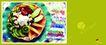 餐饮0025,餐饮,行业PSD平面模板,水果餐 沙拉 营养
