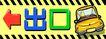 指示牌0006,指示牌,平面矢量海报模板,出口 转变 变速 黄色 小心