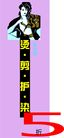 美容美发0020,美容美发,平面矢量海报模板,染发 性感 时尚 诱惑 油画 海报 POP 招贴 宣传画 名家设计 宣传单张 广告