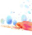 惬意情景0081,惬意情景,彩绘人物情景模板,趴卧 大地 自然