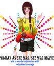 时尚人物0061,时尚人物,彩绘人物情景模板,动感 时尚 靓女