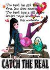 时尚人物0083,时尚人物,彩绘人物情景模板,石板 周末 渡假