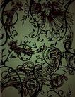 时尚藤图0083,时尚藤图,彩绘人物情景模板,黑藤 低迷 情趣