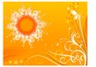 时尚藤图0092,时尚藤图,彩绘人物情景模板,橘黄 花芯 绽放