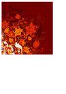 时尚藤图0100,时尚藤图,彩绘人物情景模板,深色 花布 暗调