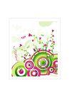 时尚藤图0120,时尚藤图,彩绘人物情景模板,圆盘 生长 紫藤
