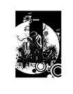 时尚藤图0127,时尚藤图,彩绘人物情景模板,发愁 俯身 埋头
