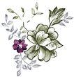 典雅花纹0155,典雅花纹,花纹边框,