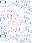 应用案例模版0079,应用案例模版,花纹边框,动感 晶莹 水珠