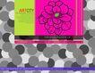 应用案例模版0080,应用案例模版,花纹边框,灰白 层叠 花样