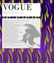 应用案例模版0082,应用案例模版,花纹边框,女人 侧脸 美容