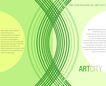 应用案例模版0085,应用案例模版,花纹边框,绿色 圆弧 扣绕