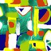 彩墨花纹0013,彩墨花纹,花纹边框,水彩画 美术 创作室