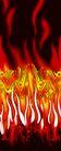彩墨花纹0046,彩墨花纹,花纹边框,火焰 红色 燃烧