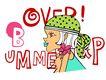 彩绘物件0191,彩绘物件,花纹边框,漫画 小女孩 小嘴巴