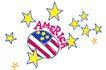 彩绘物件0196,彩绘物件,花纹边框,AMERICA 五角星 黄色