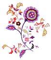 彩绘花纹0325,彩绘花纹,花纹边框,