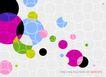 时尚纹理0003,时尚纹理,花纹边框,七彩画 泡泡 童年幻想